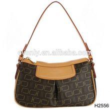 h2556 nuevo estilo de la mujer trand de imitación de cuero de impresión patrón bolso bolsos de hombro la bolsa