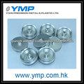 Aluminio anodizado Custom clara torneado cnc mecanizado OEM pieza de metal mecánica