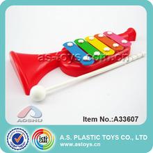 los niños de plástico piano xilófono de juguete