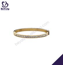 magnífica de diamante de oro de la galjanoplastia modelos de pulseras de plata