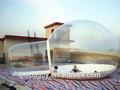 2014 prix usine tente clairement en plastique/géants. tente dôme gonflable/bulle transparente tente pour la vente