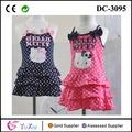 las niñas vestidos de moda hellokitty vestido de tirantes