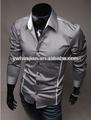 Les hommes pas cher d'africaines chemise de couleur unie