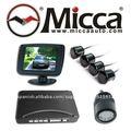Sensor de Retrovisor Multimedia con Cámara de Retroceso y Monitor 3.5''TFT, Parking Sensor with rearview monitor/camera(PS353)