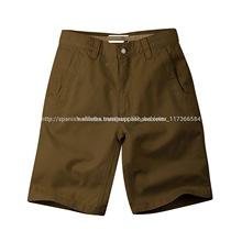 de gama alta para hombre pantalones cortos de las bermudas con estilo chino de pantalones cortos de la fábrica de bangladesh