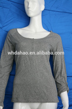 100% damas de algodón jersey blusa lehenga diseños