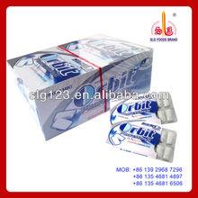 Goma de mascar xilitol/chicle mentol