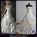 MG010 foto real de lujo Puffy vestidos de novia del diseñador importados de China