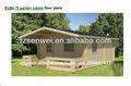Cabaña de troncos; casa de madera; casa prefabricada;