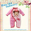 2013 de la fábrica del OEM para bebé Ropa del bebé de algodón de manga larga de bebé de los mamelucos de Navidad