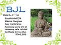 jardin grande fontaine bouddha statue
