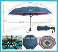 Duas camadas durável grande guarda-chuva dobrável
