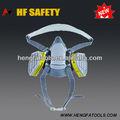 3m tipo de doble cartucho de máscara de gas químico/respirador químico