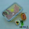 de almacenamiento de alimentos caja del molde para horno de microondas