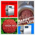 de acero inoxidable de la carne de molienda de la máquina para la venta caliente