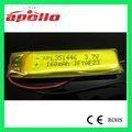 batería recargable de 3.7v 160mAh pequeña para el bluetooth