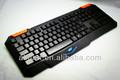 teclado de computadora teclas de colores