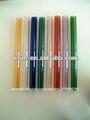 colorido tubo de vidrio pyrex