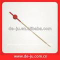 milho vermelho frango espeto de bambu colorido bambu espetos de churrasco