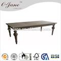 Estilo francés antiguo mesa de madera, baratos rectángulo mesa cz-001