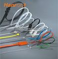 Sarga de nylon bridas de bloqueo doble brida de fijación atadura de cables de doble cierre de plástico