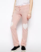 pantalón 2014 colección de corazón amante de impresión skinny pantalones de chándal