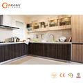 Fácil instalado de acrílico del gabinete de la cocina de los diseños para cocinas pequeñas( cdy- sa103)