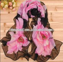 2014 nueva bufanda de la manera mantón neckware velo de gasa bufanda de las mujeres de toda la venta