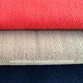 raspa de arenque cepillado de tela de lana