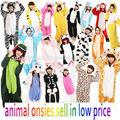 120 diseño diferente para wholsale adulto carácter kigurumi de vestuario