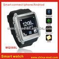 2014 MQ588L reloj del teléfono celular barato reloj y el teléfono inteligente de pantalla táctil de la manera