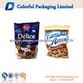venta caliente impresa plástico logotipo 2.5kg bolsas para galletas para perros