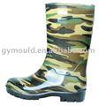 Homens novo estilo botas de jardim, wellington, fundamentos de comprimento metade botas de pvc