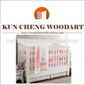 China de fábrica de madera de pino del bebé cuna cama/bebé cuna de madera