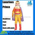 Nueva Deluxe príncipe traje cosplay al por mayor para los cabritos 2013