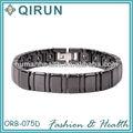 pulseira de cerâmica com a cor preta