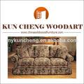 Muebles para el hogar de uso general y material woo sofá de madera/utiliza contemporáneo sofá de madera sólida