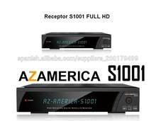 Receptor sintonizador gemelo de Azamerica S1001 satélite para la copa del mundo 2014