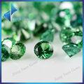 verde brillante de circonio cúbico suelto