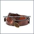 Cinturón de cuero genuinas para los hombres