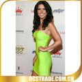 2013 Barato dama verde lima vestido vendaje H 021