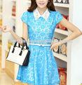Pasos bastante de moda coreano 2014 vestidos vestidos de verano/guangzhou fabricante de prendas de vestir