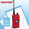 Profesional fm transmisor-receptor de radio t-300plus pc programable de dos vías de radio