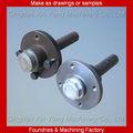 Conjunto del eje ATV de alto rendimiento en piezas y servicios mecánicos de fabricación