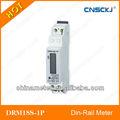 Drm18s-1p monofásicos din- contador de carril