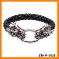 2014 el punk brazalete de dos cabeza de dragón ZTNM-6082
