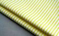 amarillo de tela libre de arrugas de fácil cuidado de hierro no para camisas