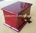 antiguos de madera caja del cajón