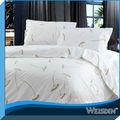 foto en blanco el hotel de impresión juego de cama colchas bordadas