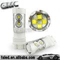 Visão super toyota fortuner acessórios 12v 24v 3157/3156 atuo lâmpada led, 60w auto lâmpada led